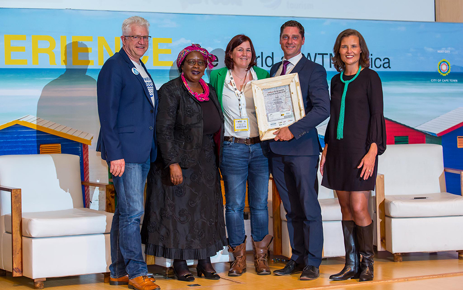 Acclaim for Spier at the 2018 African Responsible Tourism Awards