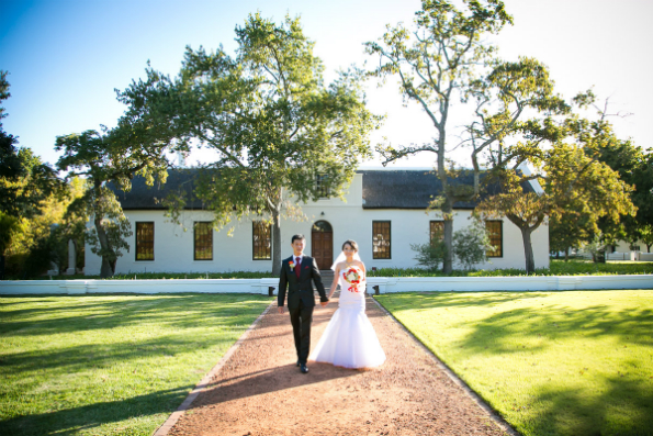 After Deciding That They Wanted A Wine Estate Wedding The Search For Perfect Venue Started According To Sunny Spiers Friendly And Helpful Staff