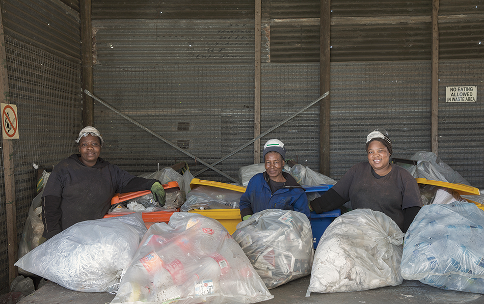 Wasting no time in the race to clean up South Africa