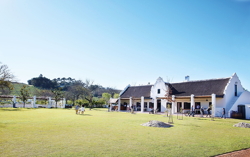 From picnics to gourmet treats: the Spier Farm Kitchen opens overlooking Spier's historic Werf