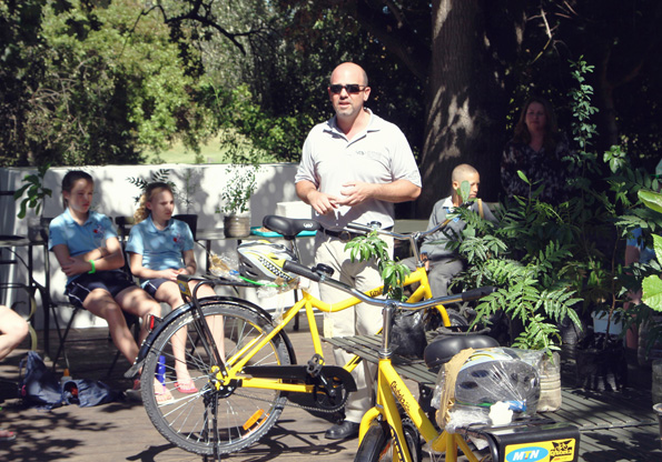 Dave Neiswander, African Director of World Bicycle Relief, discusses the impact that the girls