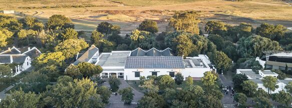 Spier boosts solar capacity with new panels on Tasting Room and Hotel roofs