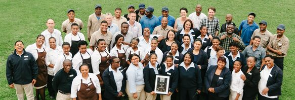 Top-notch hospitality: Spier wins award for service excellence