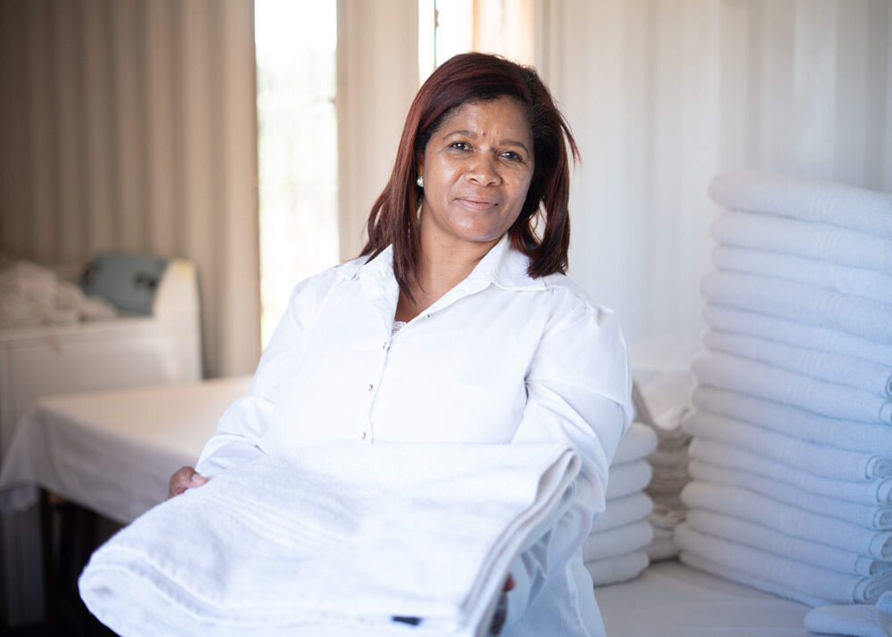 Klein Begin Laundry at Spier gets green boost