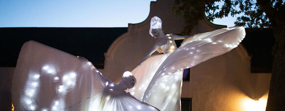 Inspiring performances to celebrate the opening of Spier Light Art