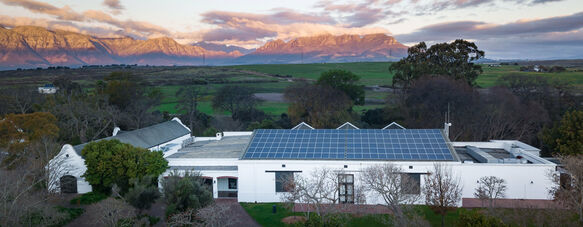 Sustainability in practice: The story of a South African farm in the Cape winelands