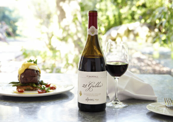 Spier 21 Gables Pinotage 2013 goes for gold