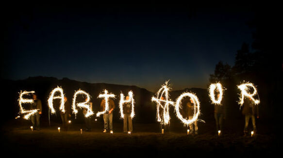 Earth Hour at Spier