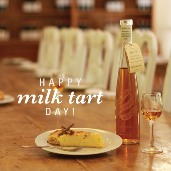 Perfect Pairing for National Milk Tart Day