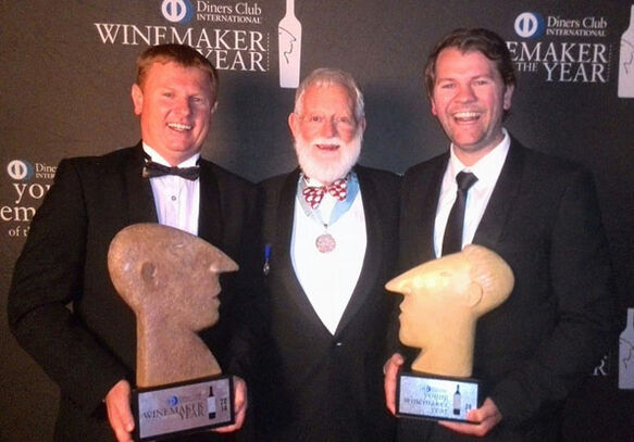 Jacques Erasmus wins Diners Club Winemaker of the Year