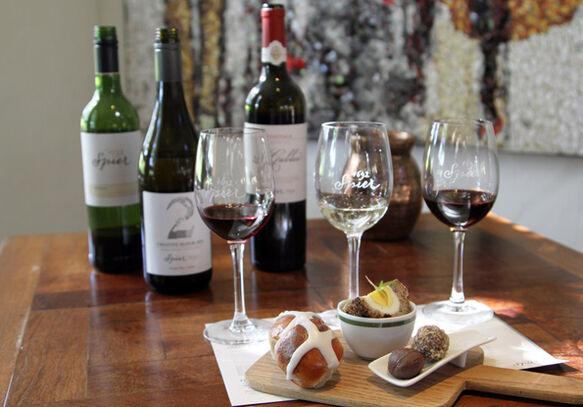A special wine tasting pairing during Easter at Spier
