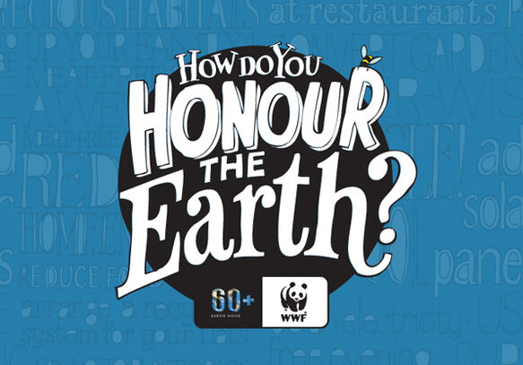 Spier supports Earth Hour 2014