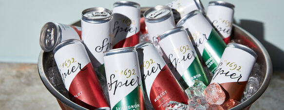 PREMIUM SPIER WINES NOW AVAILABLE IN CANS