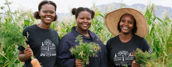 Spier celebrates the women growing food and trees
