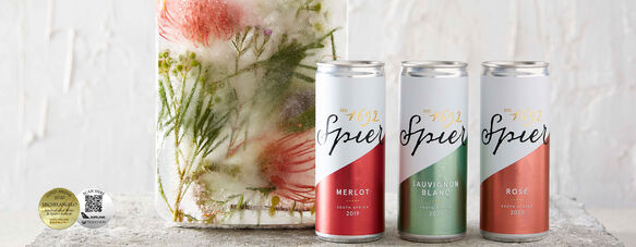 Spier Canned Wines crowned Gold at Michelangelo International Wine & Spirits Awards