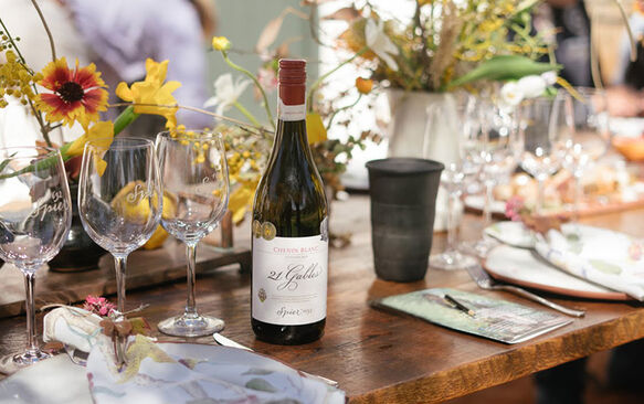 SPIER 21 GABLES CROWNED THE WORLD'S BEST CHENIN BLANC
