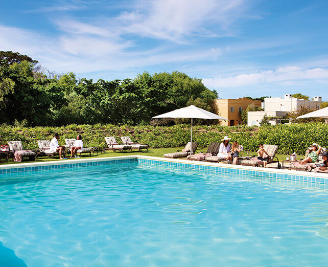 Spier Hotel Main Pool