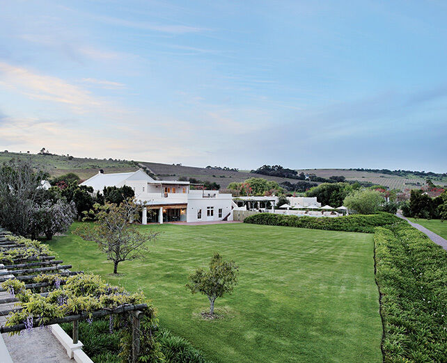 Spier Hotel lawns